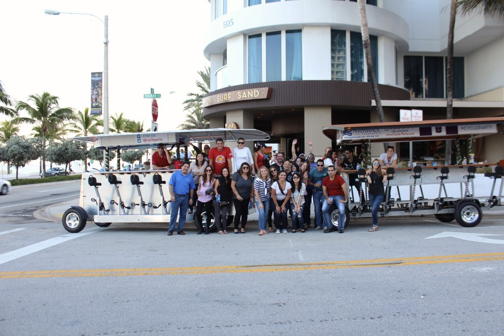 Cycle Party Fort Lauderdale Happy Hour Tour