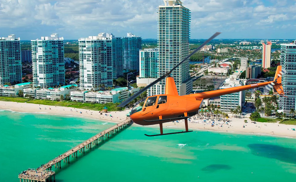 20 Minute Sunny Isles Beach Helicopter Tour