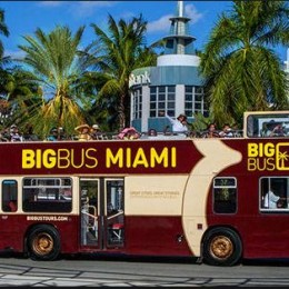 Premium Hop On Hop Off Sightseeing with Biscayne Bay Cruise- 1 Day Pass
