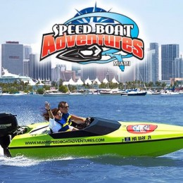 Miami Speed Boat Adventures (One Person)