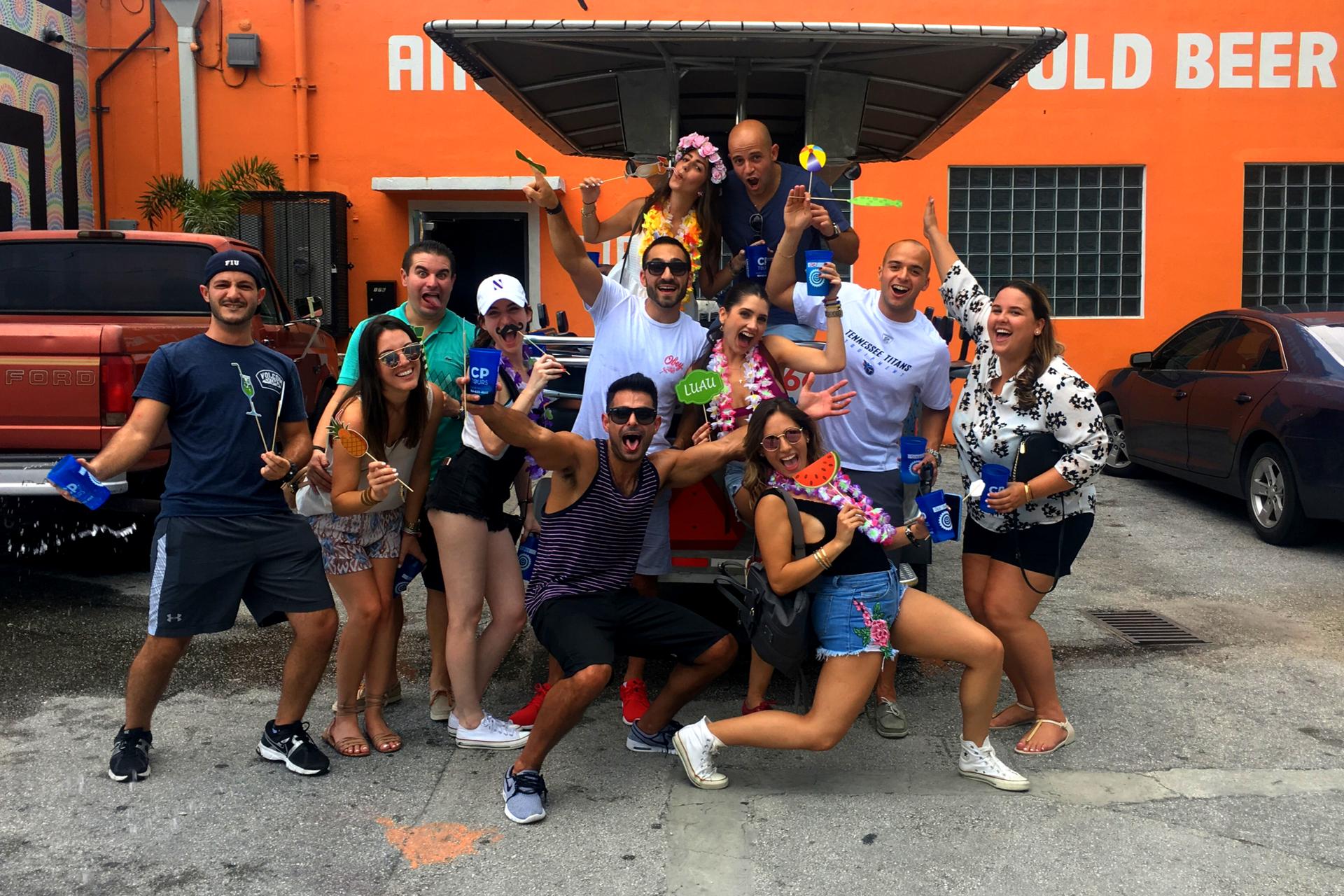 Quadracycle Happy Hour Tour Ft. Lauderdale