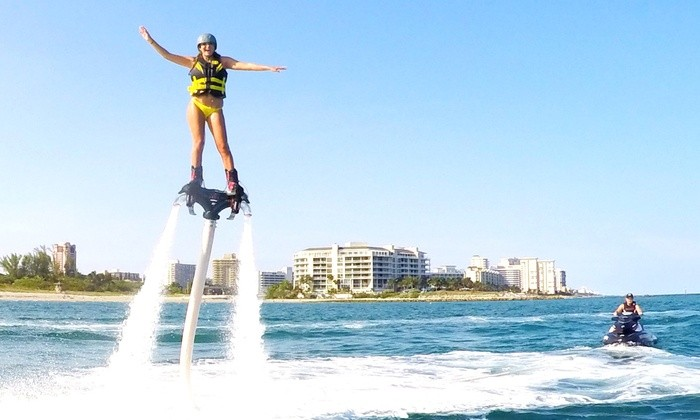 60 minute Flyboarding session